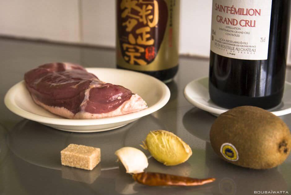 Canard au kiwi fa on ta wanaise paris taiwan for Apprendre cuisine asiatique